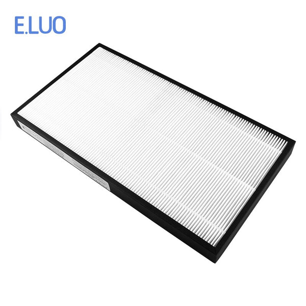 Custom Filter Replacement Air purifier Filter H12 HEPA Filter Fit For Rowenta PU4025 370x170x35mm