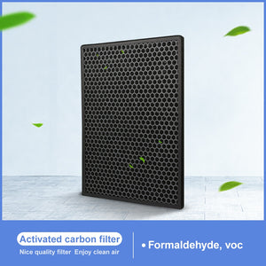 Air Purifier Activated Carbon Filter With 386mm*286mm*41mm Size For Xiaomi Air Purifier XFXT01ZM