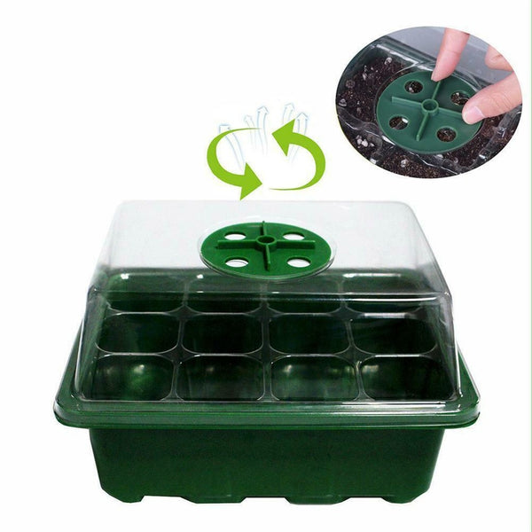 12 Hole Fabric Grow Breathable Pots Planter Root Pouch Container Plant With Handles Garden Supplies