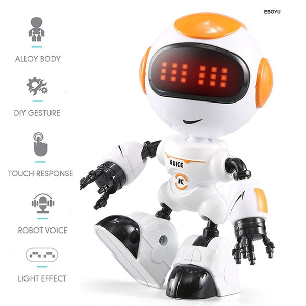 JJRC R8 LUKE Intelligent Robot Touch Control DIY Gesture Talk Smart Mini RC Robot Gift Toy