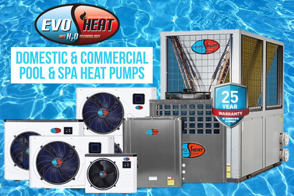 EvoHeat Spa & Pool Heat Pumps - Now Stocked