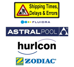 Astral, Zodiac, Fluidra, Hayward Shipping Delays & Errors