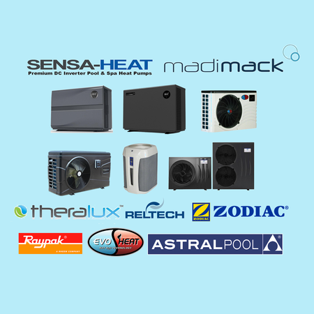 Pool & Spa Heaters - Heat Pumps