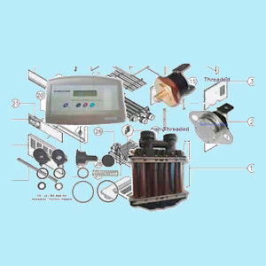Pool & Spa Gas Heater Spare Parts