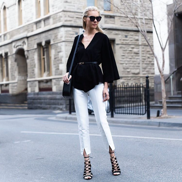 The Trend Spotter White Trend Street Style