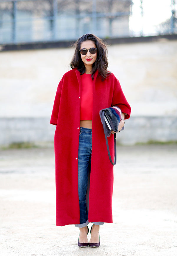 IF YOU WANT TO LOOK CHIC THIS WINTER BUY THE RED COAT – FRIEND of