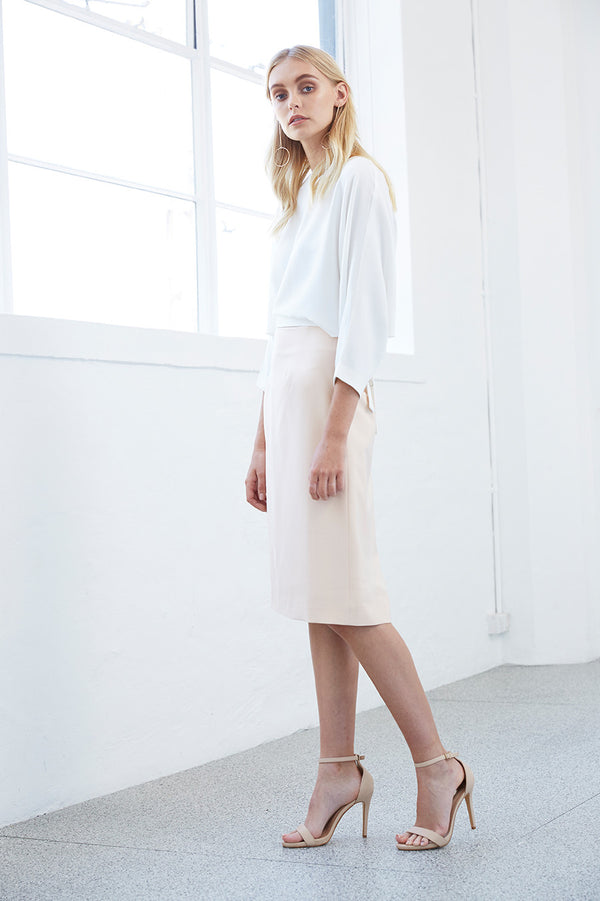 ASYMMETRY A-LINE SKIRT