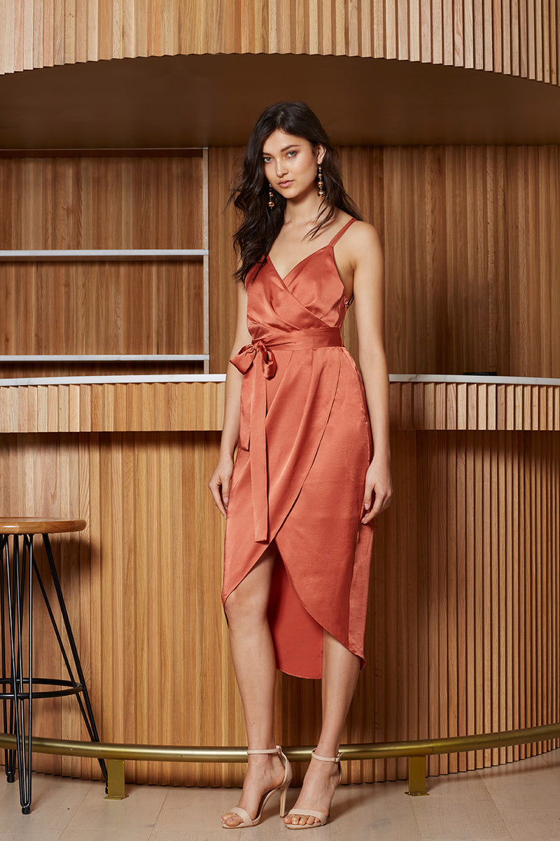 Veronika Wrap Dress