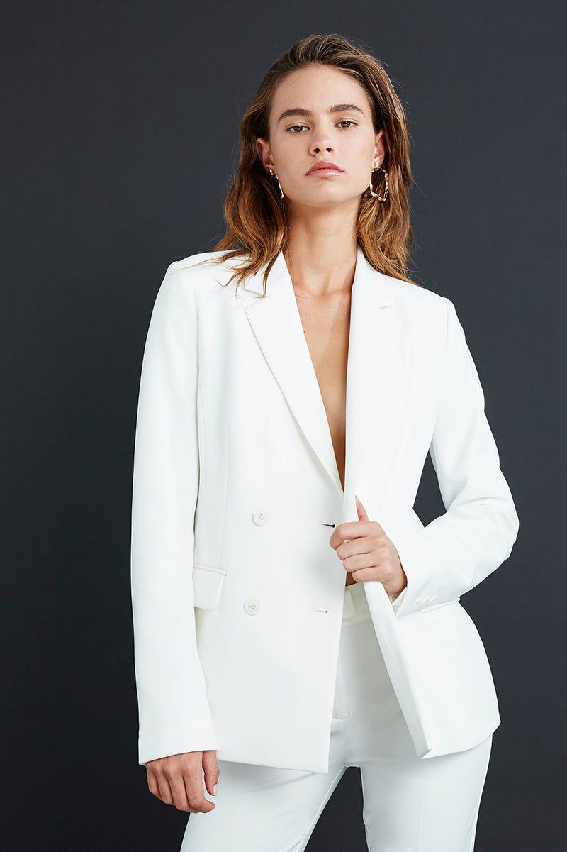 Carine Double Breasted Blazer