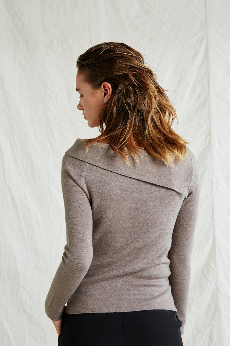 Bridget Fold Over Knit