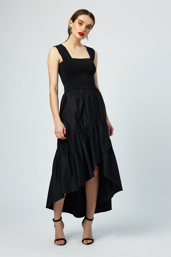 Imogen Ruffled Evening Skirt