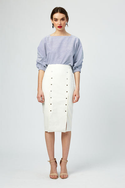 French Riviera Studded Skirt