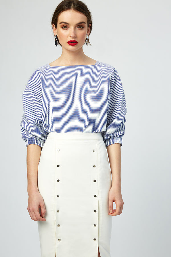 French Riviera Striped Top