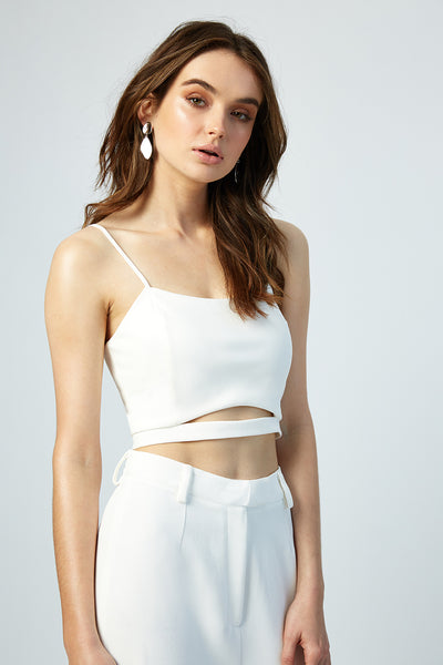 Camilla Cut Out Crop Top