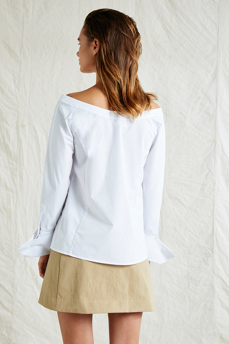 Chloe Off Shoulder Shirt