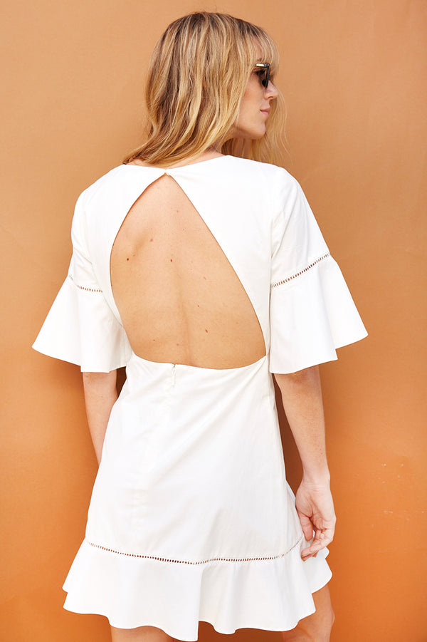 Clara Open Back Dress