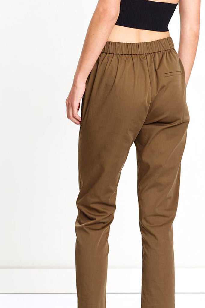 Friend of Audrey Elliot 7/8 Pants Tan