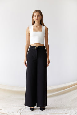 Friend of Audrey Toni Tailored Wide Leg Pants