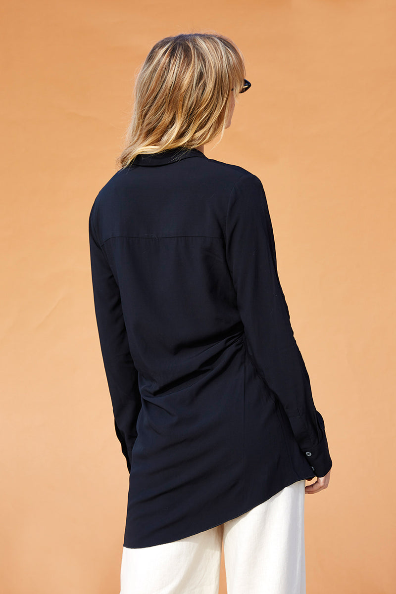 Mary Kate Twist Blouse