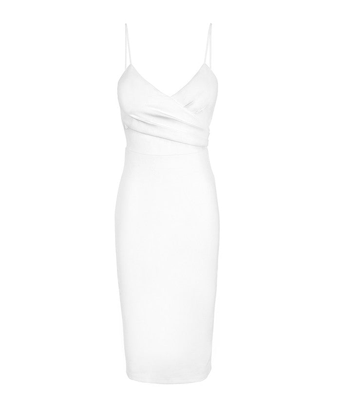 Debbie White Cut Out Dress
