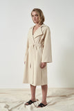 Friend of Audrey Emerson Oversized Trench Coat