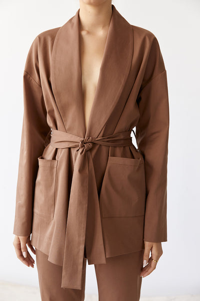 Friend of Audrey Elliot Wrap Jacket