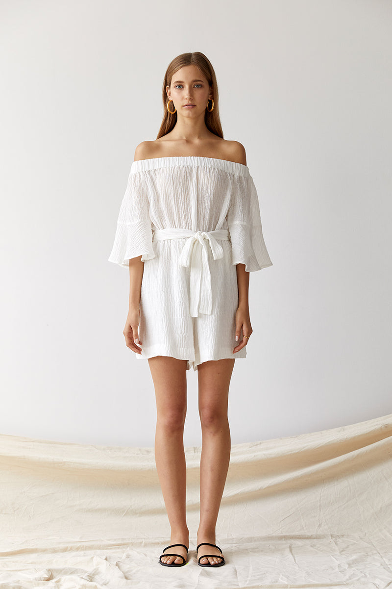 Nico Linen Playsuit