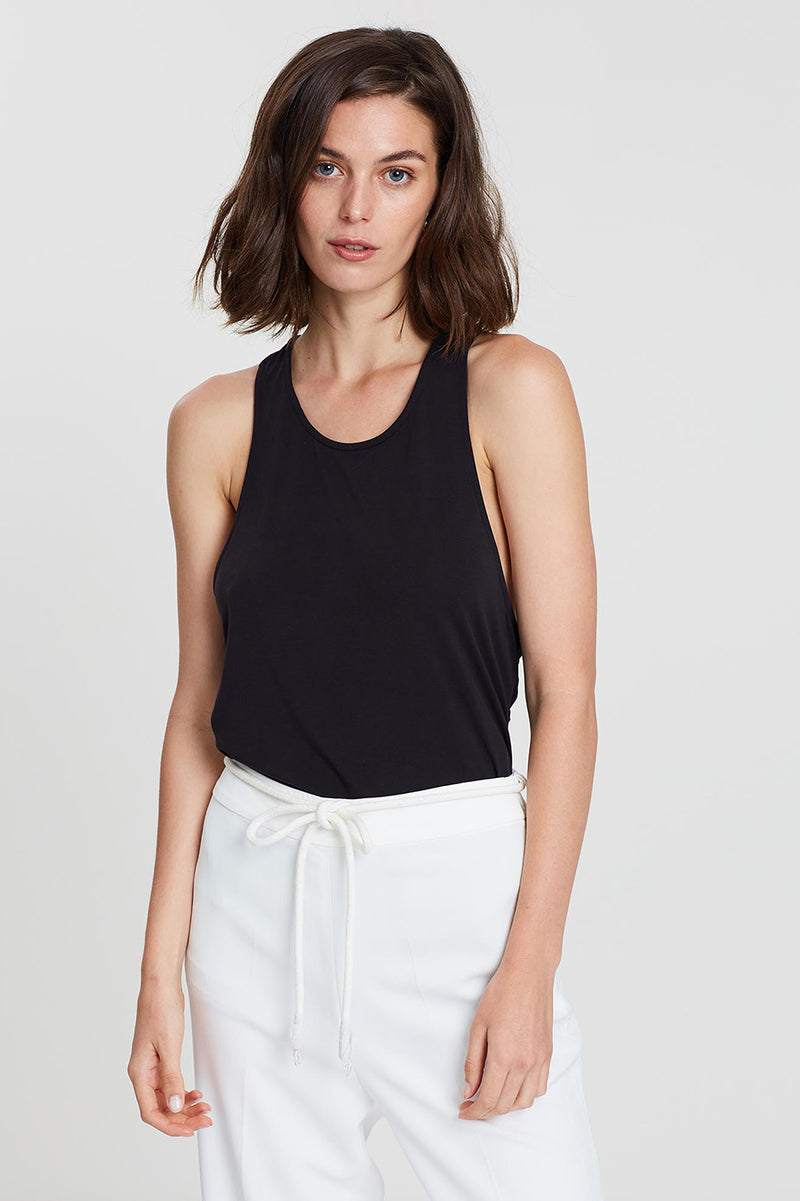 Lena Jersey Twist Tank - Final Sale