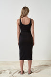Friend of Audrey Oriana Ribbed Bra Dress