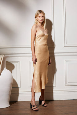 Friend of Audrey Paige Bias Cut Slip Dress
