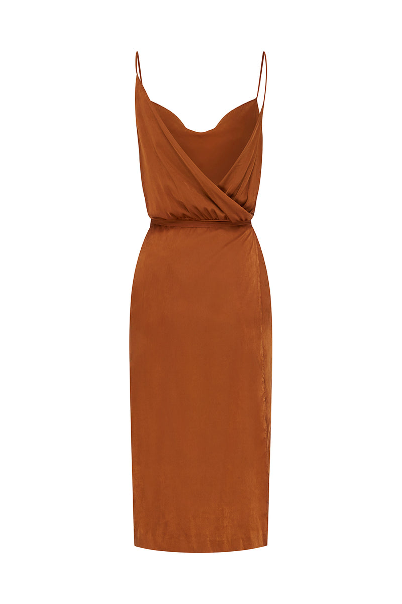Suri Satin Tie Dress