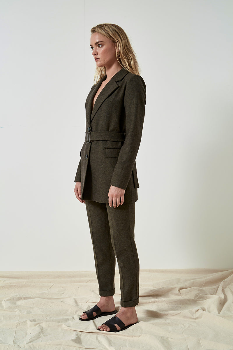 Friend of Audrey Ellen Wool Blazer