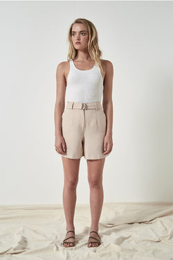 Friend of Audrey Gemma Tailored D-Ring Shorts