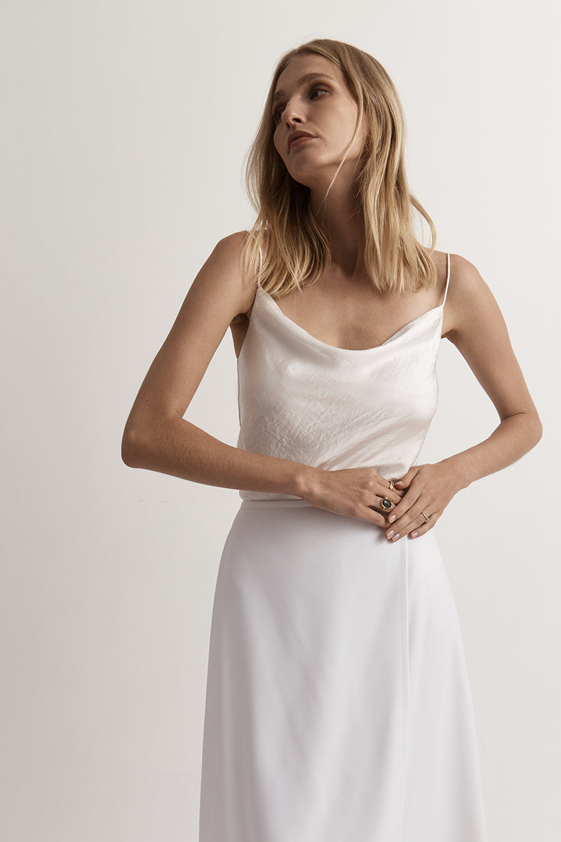 Essentials Draped Singlet Top
