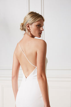 Friend of Audrey Bridesmaid Dress Rhodes Cross Back Dress