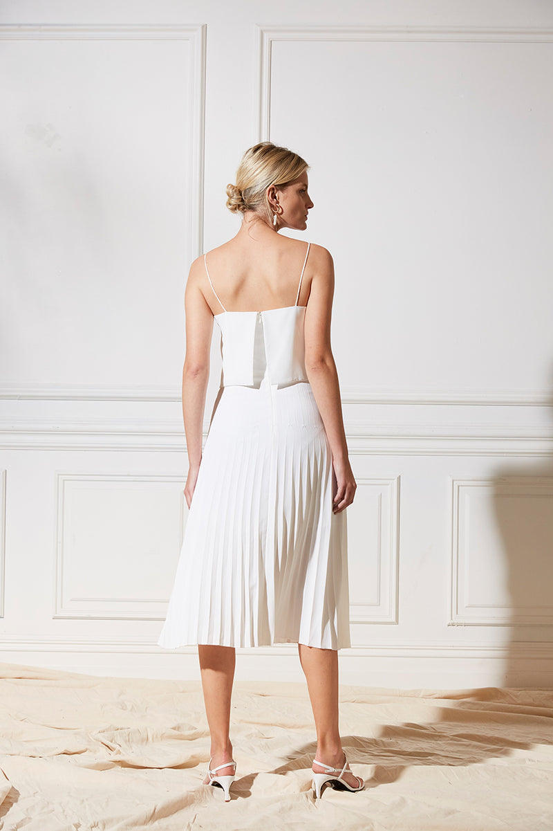 Friend of Audrey Bridesmaid Dress Arianna Pleated Dress