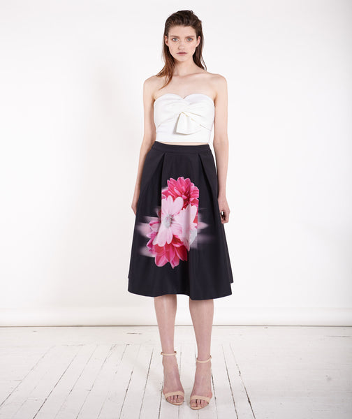 Garden Party Floral Full Skirt