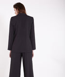Modern Black Soft Suit Blazer