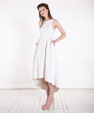 True Believer white dress