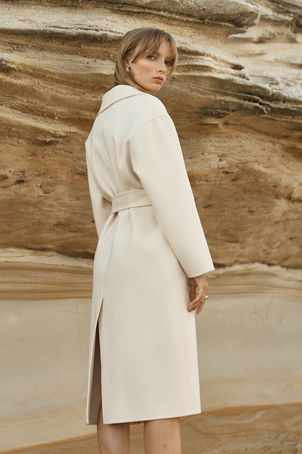 Jil Double Faced Wool Coat