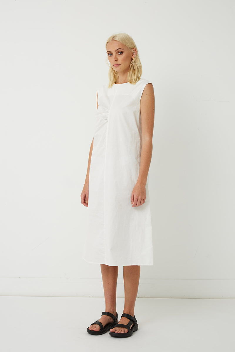 Hannah Cotton Sleeveless Dress