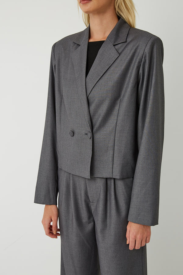 Carter Cropped Blazer