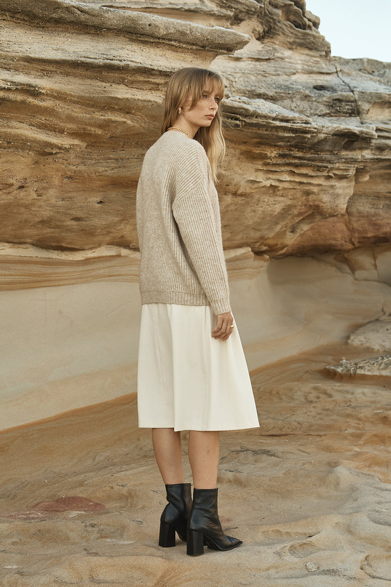 Freja Round Neck Knit Jumper