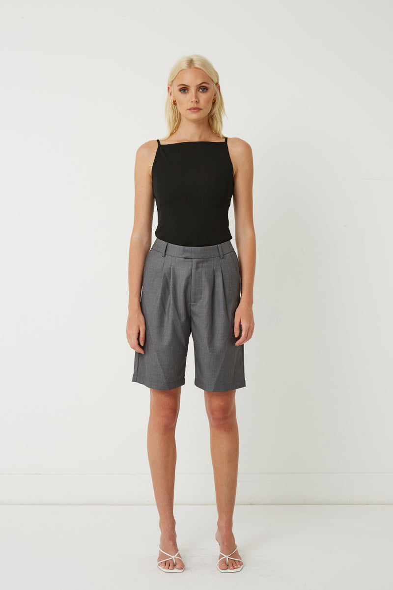 Carter Pleated Shorts