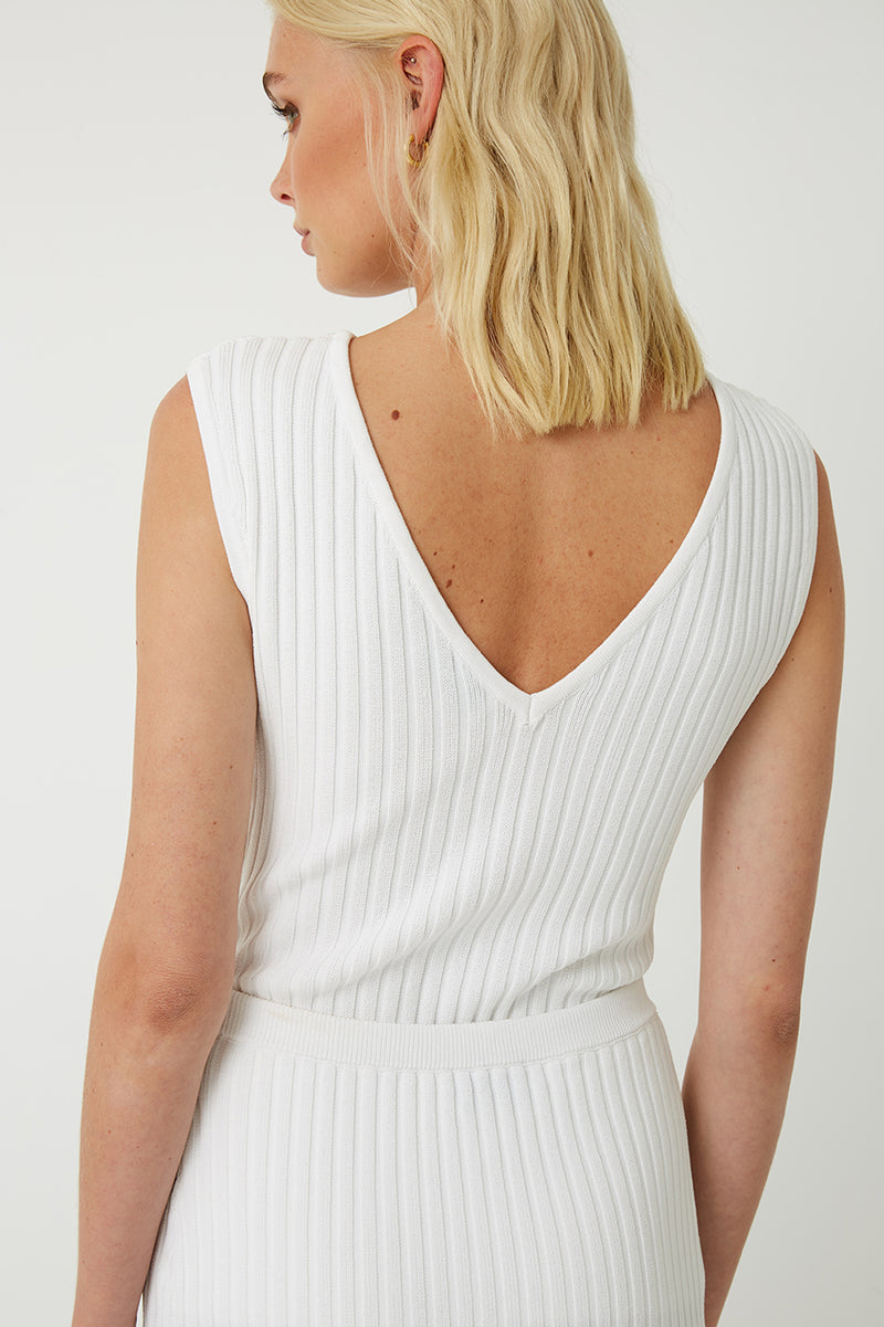 Esme Reversible Ribbed Knit Top