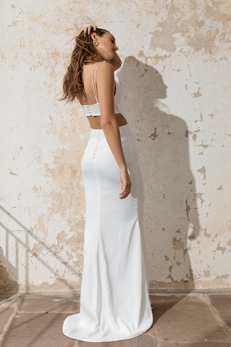 Odette Cut-Out Full Length Gown