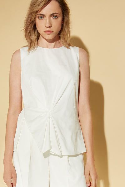 ASYMMETRY PEPLUM TOP