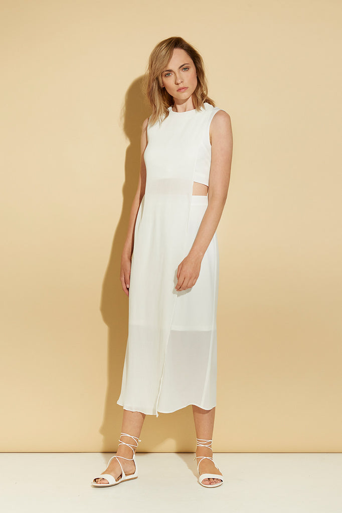 WANDERLUST PLEATED DRESS