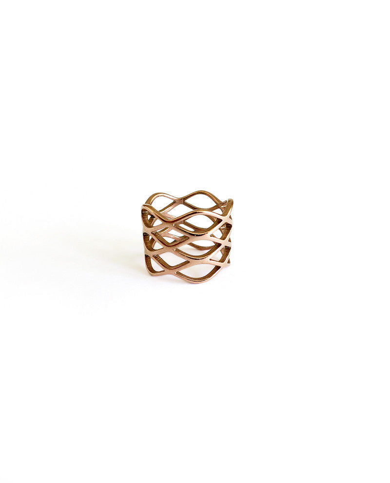Aria Rose Gold Ring