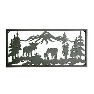 Moose Metal Wall Decor